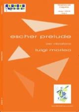Escher Prélude Luigi Morleo Partition Vibraphone - laflutedepan.com