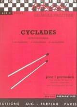 Georges Paczynski - Cyclades - Partition - di-arezzo.fr