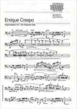 Enrique Crespo - Improvisation Nr. 1 - Sheet Music - di-arezzo.co.uk