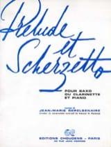 Jean-Marie Depelsenaire - Preludio y Scherzetto - Partitura - di-arezzo.es