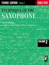 The Technique Of The Saxophone Volume 2 Joseph Viola laflutedepan.com