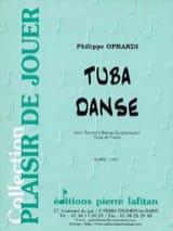 Philippe Oprandi - Tuba Danse - Partition - di-arezzo.fr