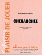 Chevauchée Philippe Oprandi Partition Tuba - laflutedepan.com