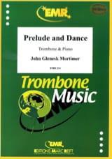 Prelude And Dance John Glenesk Mortimer Partition laflutedepan.com