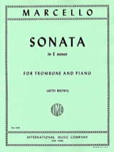 Benedetto Marcello - Sonata In E Minor - Sheet Music - di-arezzo.com