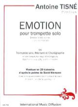 Antoine Tisné - Emotion - Partition - di-arezzo.fr