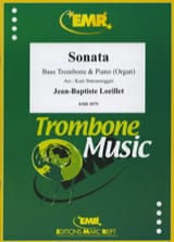 Jean-Baptiste Loeillet - Sonata in C Major - Sheet Music - di-arezzo.co.uk