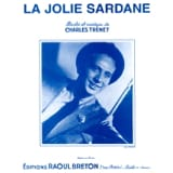 Jolie La Sardane Charles Trenet Partition laflutedepan.com