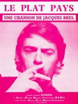 Jacques Brel - The flat country - Sheet Music - di-arezzo.com