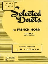 Selected Duets Volume 1 Voxman Partition Cor - laflutedepan