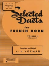 Selected Duets Volume 2 - Voxman - Partition - Cor - laflutedepan.com