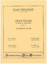 Claude Chevaillier - 20 Etudes D'après Kreutzer - Partition - di-arezzo.fr