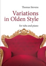 Thomas Stevens - Variations in olden style - Partition - di-arezzo.fr