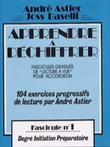 Astier André / Baselli Joss - Learn To Decipher Volume 1 - Sheet Music - di-arezzo.com