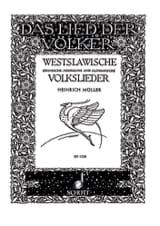 Westslawische Volkslieder Bohmische, Mahrische, Slowakische laflutedepan.com