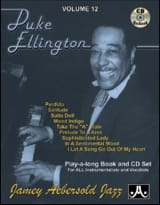 Volume 12 - Duke Ellington METHODE AEBERSOLD laflutedepan.com