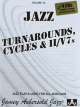 Divers Auteurs / Aebersold Jamey - Volume 16 avec 2 CDs - Turnarounds Cycles & II / V7's - Sheet Music - di-arezzo.com