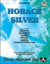 Silver Horace / Aebersold Jamey - Volume 18 - Horace Silver - Partition - di-arezzo.fr