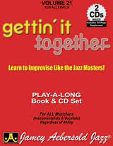 Volume 21 avec 2 CDs - Gettin' It Together laflutedepan.com