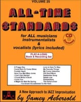 Divers Auteurs / Aebersold Jamey - Volume 25 avec 2 CDs - All Time Standards - Sheet Music - di-arezzo.com