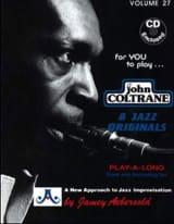 Volume 27 - John Coltrane METHODE AEBERSOLD Partition laflutedepan.com