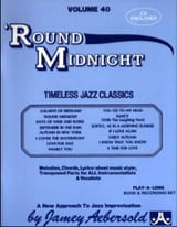 Volume 40 avec 2 CDs - Round Midnight laflutedepan.com