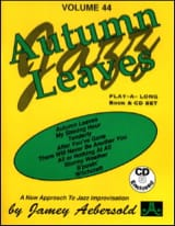 Volume 44 - Autumn Leaves METHODE AEBERSOLD Partition laflutedepan.com