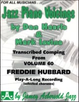 Hubbard Freddie / Aebersold Jamey - Jazz Piano Voicing Volume 60 - Partition - di-arezzo.fr