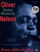 Volume 73 - Stolen Moments METHODE AEBERSOLD laflutedepan.com