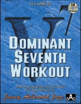 Divers Auteurs / Aebersold Jamey - Volume 84 avec 2 CDs - Dominant Seventh Workout - Partition - di-arezzo.fr