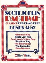 Scott Joplin - Ragtime Classics For Piano Duet - 4 Mains - Partition - di-arezzo.fr