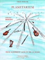 Planetarium Claude Pascal Partition Saxophone - laflutedepan