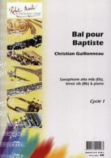Bal Pour Baptiste Christian Guillonneau Partition laflutedepan.com