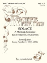 Ragtime For Two. 4 Mains Scott Joplin Partition laflutedepan.com