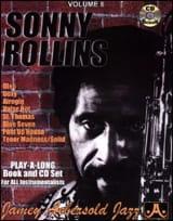 Volume 8 - Sonny Rollins METHODE AEBERSOLD Partition laflutedepan.com