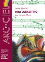 Mini Concertino Olivier Renault Partition Trombone - laflutedepan.com