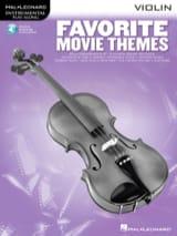 Favorite Movie Themes Partition Violon - laflutedepan.com