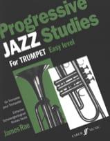 James Rae - Progressive Jazz Studies Easy Level - Partition - di-arezzo.fr