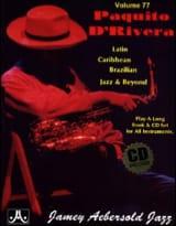 Volume 77 - D' Rivera Paquito METHODE AEBERSOLD laflutedepan.com