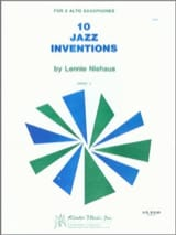 10 Jazz Inventions - Lennie Niehaus - Partition - laflutedepan.com