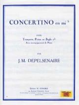 Concertino En Mib Jean-Marie Depelsenaire Partition laflutedepan