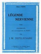 Légende Nervienne Jean-Marie Depelsenaire Partition laflutedepan.com