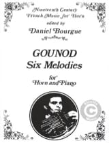 Charles Gounod - 6 Melodies - Partition - di-arezzo.fr