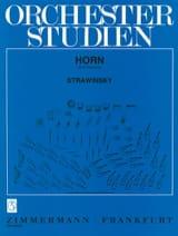 Traits d' Orchestre Igor Stravinsky Partition Cor - laflutedepan.com
