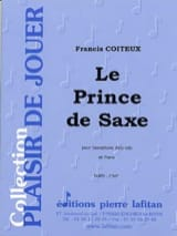Francis Coiteux - El príncipe de sajonia - Partitura - di-arezzo.es