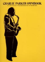 Charlie Parker - Charlie Parker Omnibook Eb - Partition - di-arezzo.fr