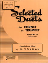 Selected Duets Volume 2 Voxman Partition Trompette - laflutedepan.com