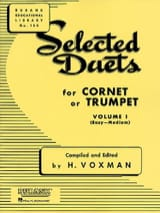 Selected Duets Volume 1 Voxman Partition Trompette - laflutedepan.com