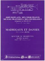 Madrigaux Et Danses Partition Trompette - laflutedepan.com