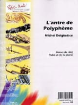 Michel Del Giudice - The lair of Polyphemus - Sheet Music - di-arezzo.com